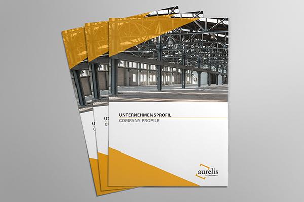 Unternehmensbroschüre für Projektentwickler